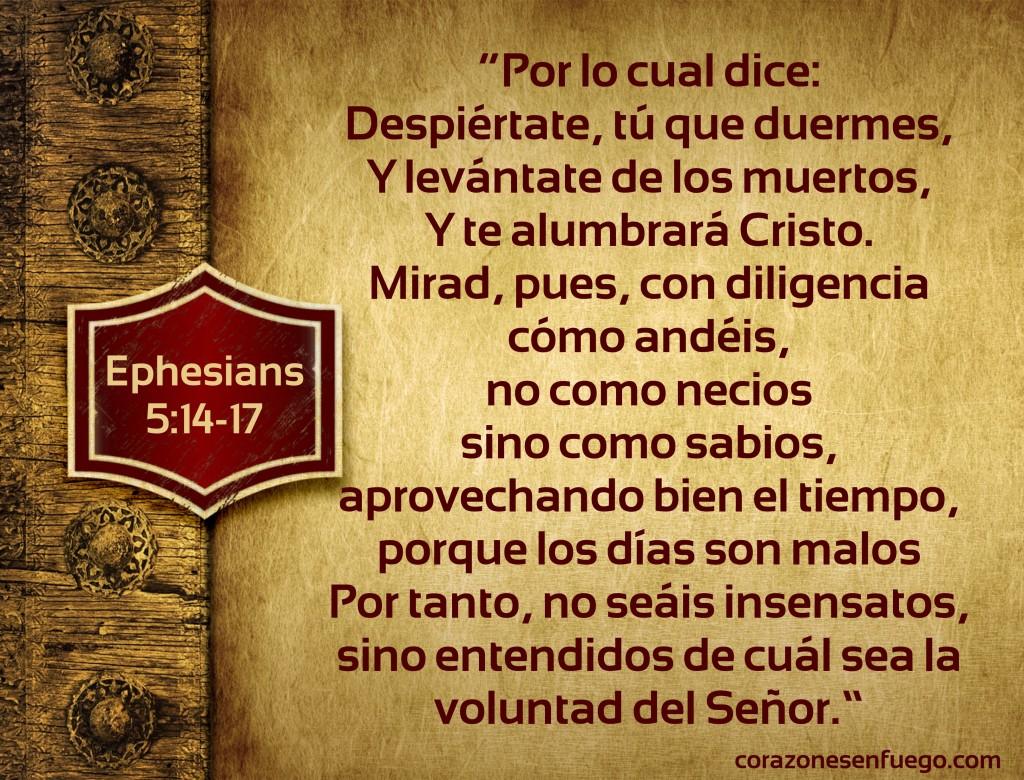 Efesios 5 - 14-17